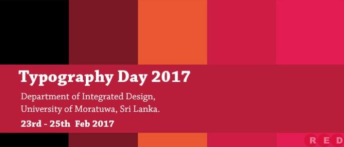 2016竞赛征集(98)印度Typography<wbr>Day<wbr>2017文字海报大赛