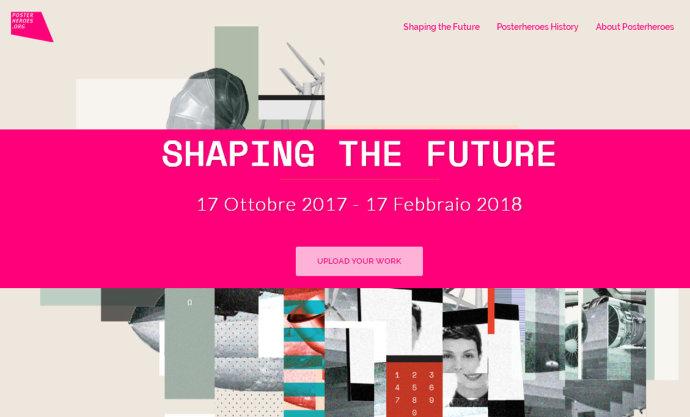2018竞赛征集(11)第七届意大利Posterheroes社会传播大赛